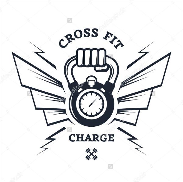 Retro Fitness Service Logo