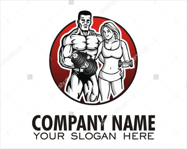 Fitness Couple Apparel Logo