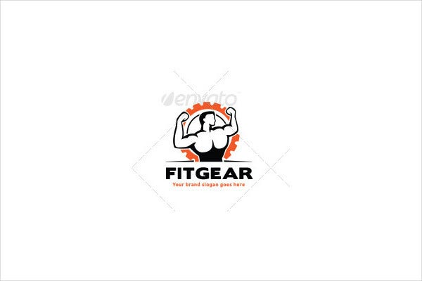 Professional Fitness Apparel Logo