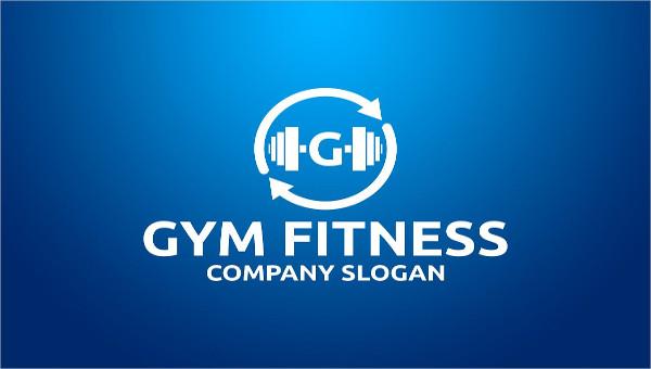 45 fitness logo psd