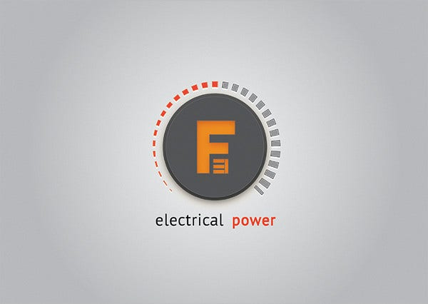 Electrical Power Energy Logo
