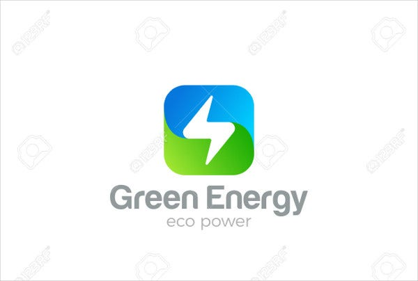 Green Energy Electric Logo