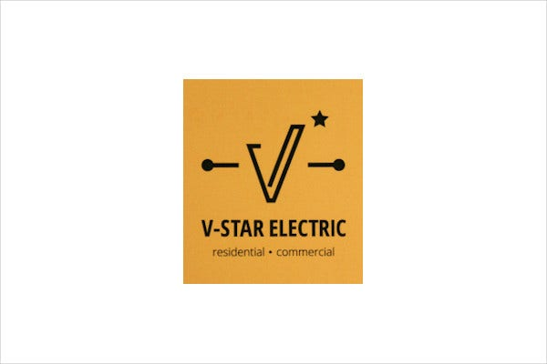 electrical small business logo