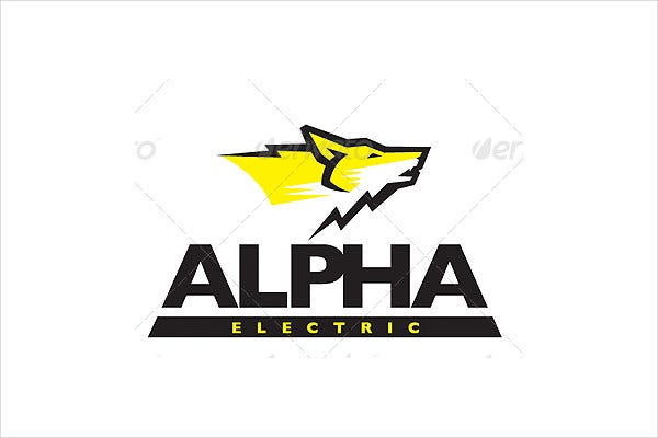 electrical parts business logo