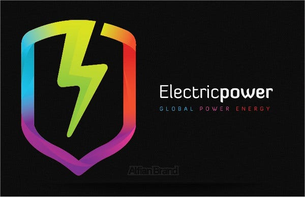 electrical power and energy logo