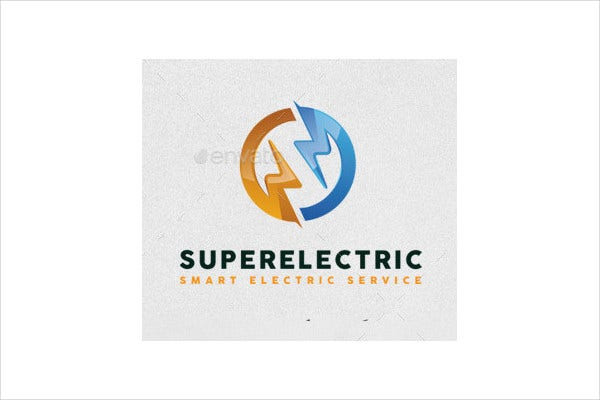 abstract modern electrical logo2