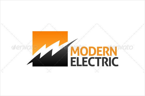 electrical trade logo vector
