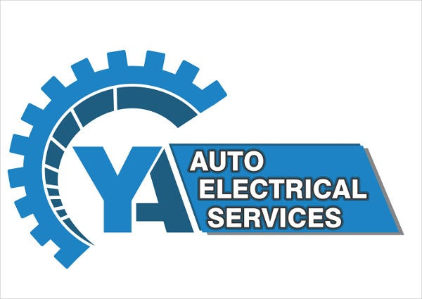 free auto electrical logo