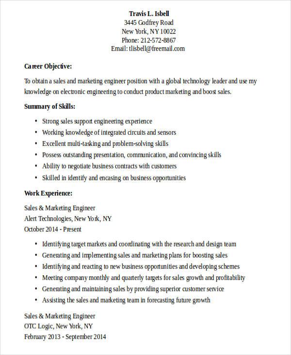 sales marketing engineer resume2