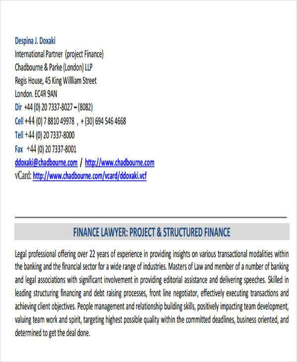 corporate banking associate resume7