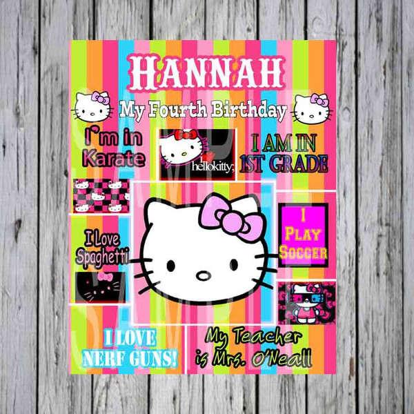diy-hello-kitty-birthday-poster