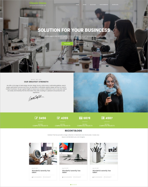wordpress-theme-for-business