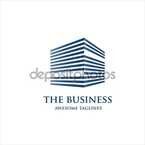 Business Strategy Building Logo