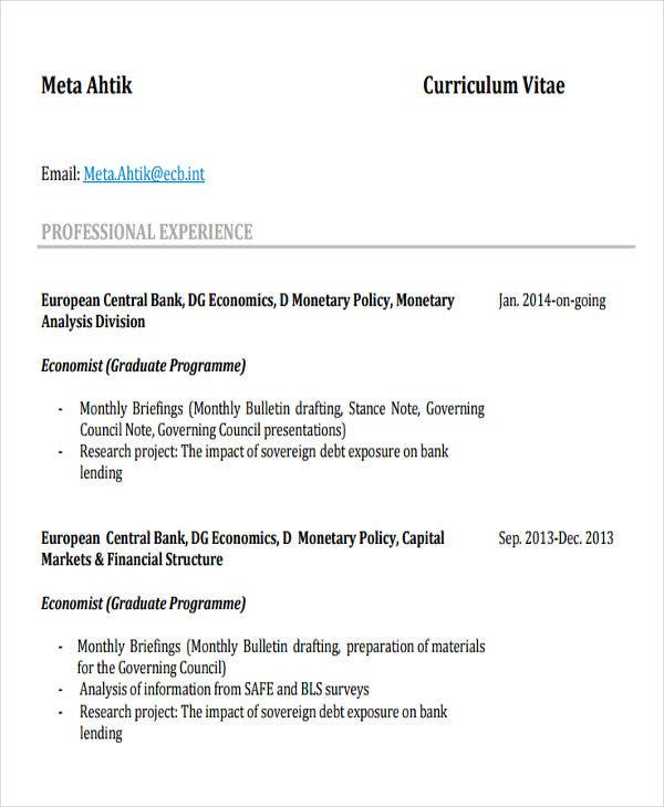 banking data analyst resume4