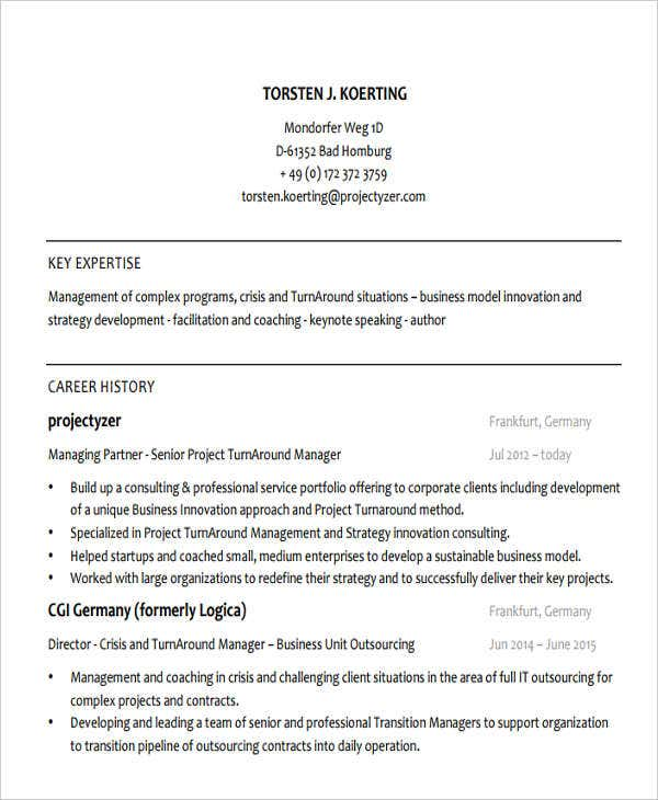 49  banking resume templates in pdf