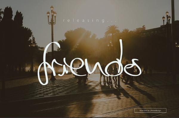 friends-script-font