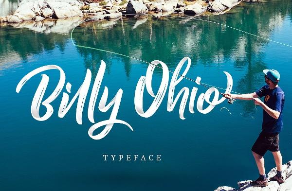 ohio-brush-font