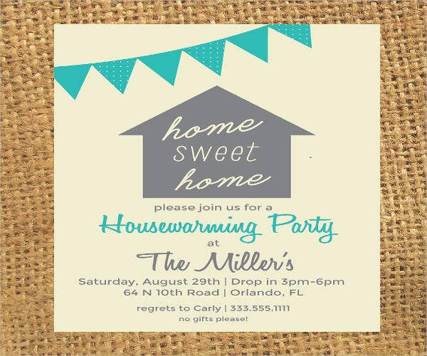 photograph regarding Printable Housewarming Invitations named 16+ Housewarming Social gathering Invites - PSD, AI Cost-free