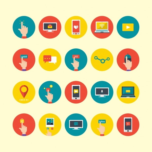 technological-device-icons