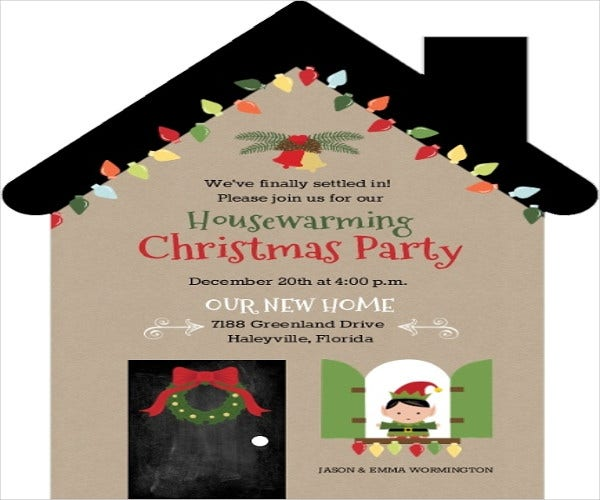 9 Housewarming Party Invitations Free Sample Example