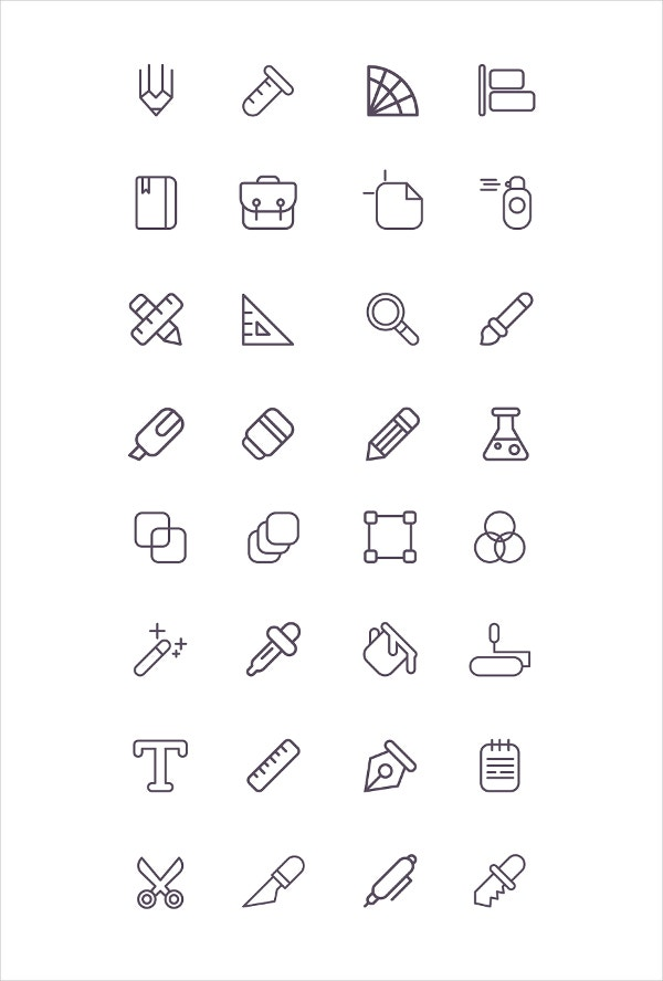 free-vector-line-icons