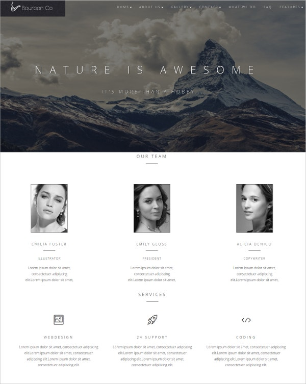 multi-page-responsive-html-template