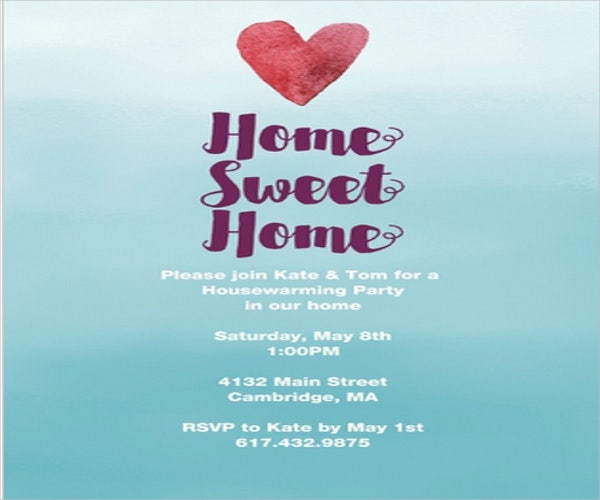 9+ housewarming party invitations - free sample, example, format, Invitation templates