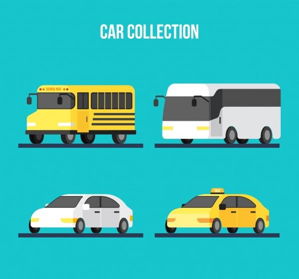 flat-automobile-vectors