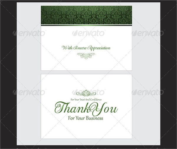 70 Thank You Card Designs Free Amp Premium Templates