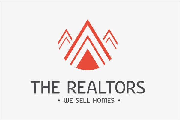 Business Real Estate Agent Logo