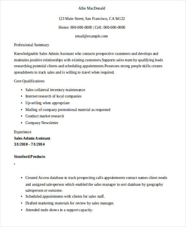 best sle administrative assistant resume 28 images top