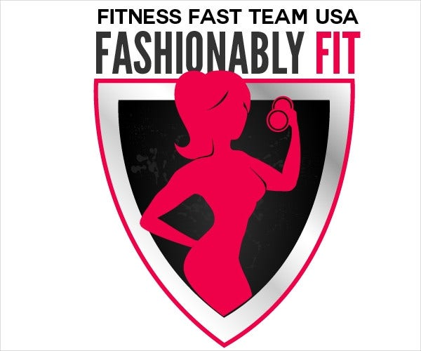 Fitness Model Team Logo