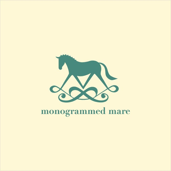 Small Business Monogram Logo