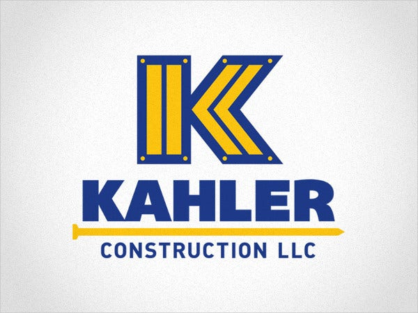 Construction Business Safety Logo