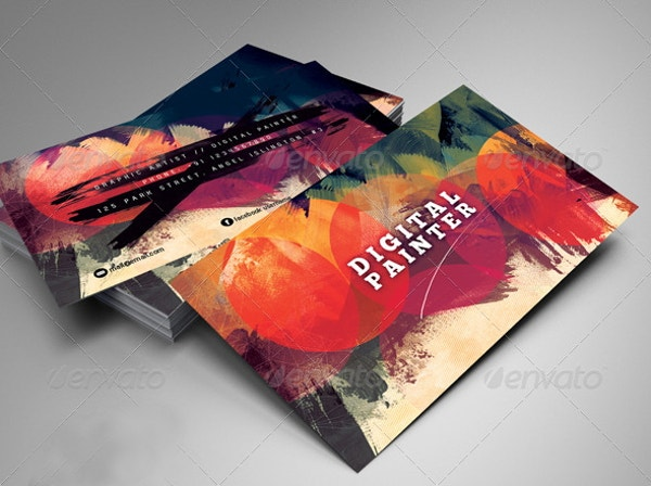 15 artists business card templates free premium templates artistic psd business card template colourmoves