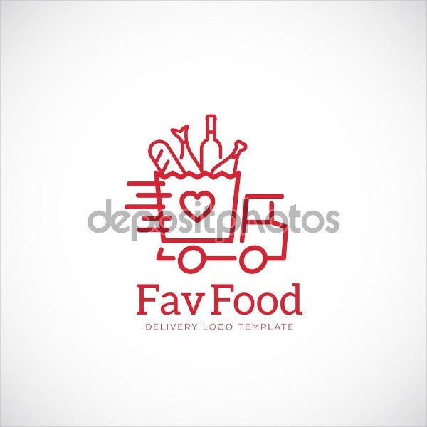 Food Delivery Service Logo