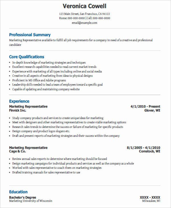 nice professional marketing resume images how to write a resume