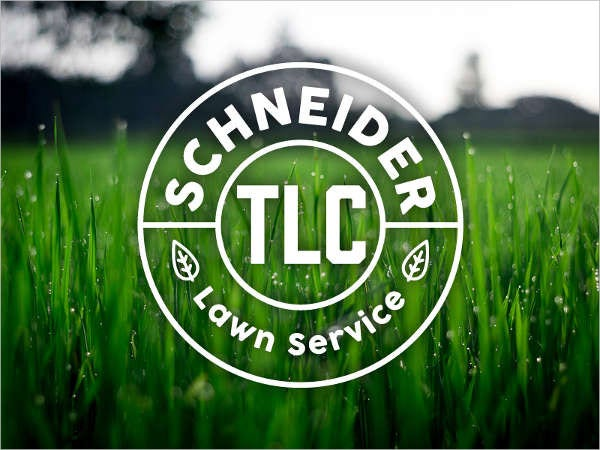 Lawn Care Service Logo
