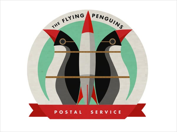 Postal Holiday Service Logo