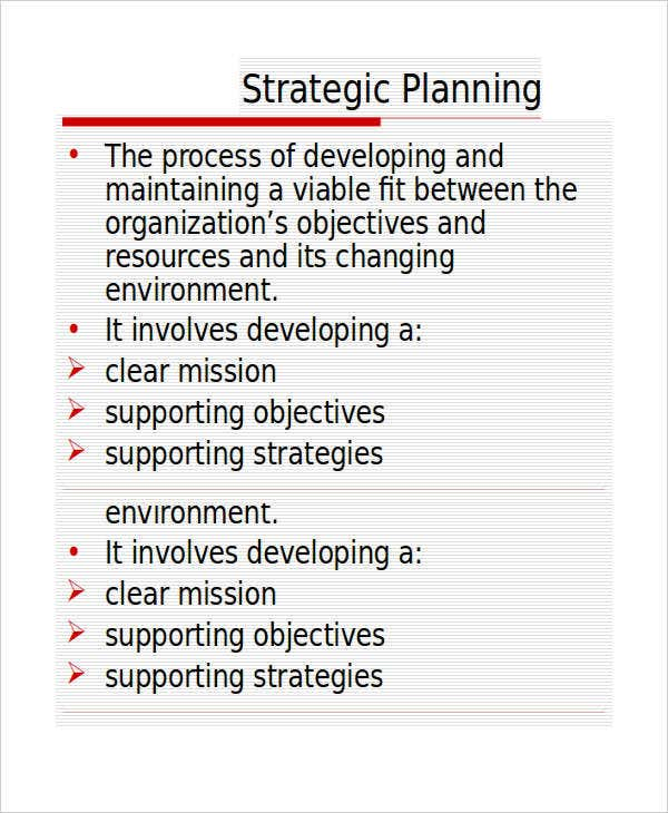strategic marketing plan ppt