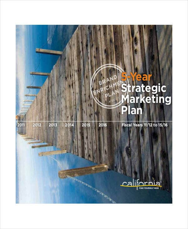 5 year strategic marketing plan