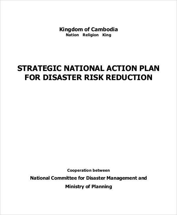strategic national action plan