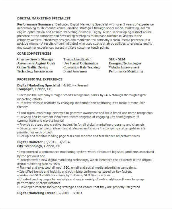 digital marketing specialist resume3