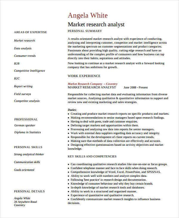 marketing research analyst resume3