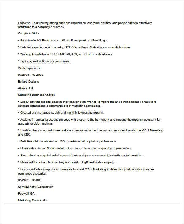 business analyst marketing resume4