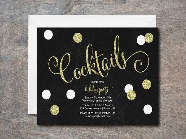 black-and-white-cocktail-party-invitation