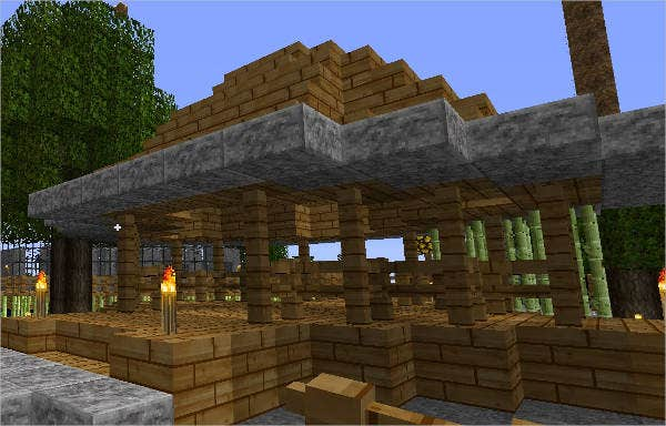 Minecraft Stone Slab Texture