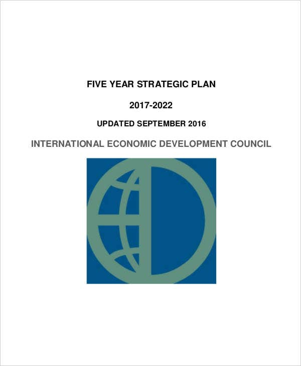 non profit 5 year strategic plan