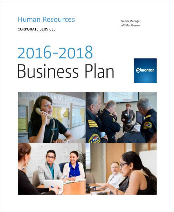 hr strategic business plan