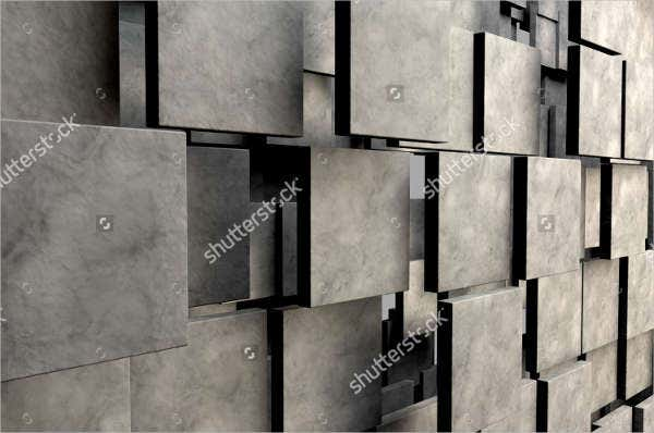 3d stone square texture